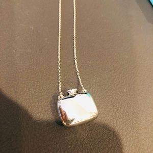 Tiffany & co mini square bottle pendant